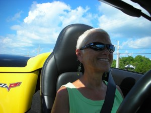 Key West 2010 Driving the Corvette